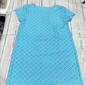 Jude Connally Blue T-shirt Dress
